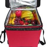 Grand boire isolé de luxe de nourriture ou sac Walmart de la distribution de fruits