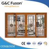 Подгонянные алюминиевые раздвижная дверь и окно от фабрики