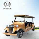 8 مقعد مسافرة عربة [سوتر] كلاسيكيّة غلّة كرم عربة نوع ذهب عربة عربة كهربائيّة