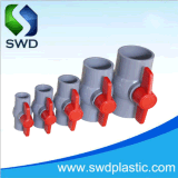 공급 물을%s 소성 물질 PVC 공 벨브