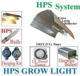 HPS 600W 1000W coltivano il riflettore dell'ala della lampada