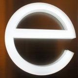 Kreative LED-Kanal-Zeichen im Freienled-Bildschirmanzeige