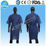 De hygiënische Geduldige Toga van de Stof van SMS/pp/schrobt Kostuums met Korte Koker