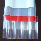 Feuille en plastique de panneau de toiture du panneau FRP de la tuile de toiture de Corruated de fibre de verre GRP