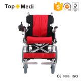 2017障害があるのための経済的な取り外し可能な力の車椅子か折る電動車椅子