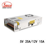 D-300A 5VDC 25A와 12V 15A는 출력 전력 공급 이중으로 한다