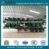 Semi-reboque da China Brand 3 Eixos para Transporte de Contentores