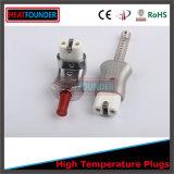 Enchufe de cerámica de alta temperatura del calentador eléctrico del enchufe eléctrico