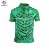 주문 스포츠 착용 골프 셔츠는 원주민을%s 폴로 셔츠를 승화했다