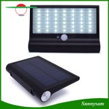 Piscina Jardim Solar iluminação LED 42 4W Lâmpada de segurança do sensor de movimentos