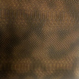 Superio Snake Garain PU para sacos de couro sintético e sapatas (HSK119)