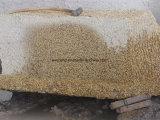 Decorativos Buidling Natural Golden Rusty Amarelo Mosaico de granito& Slab para venda