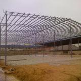 쉬운 제작은 Prefabricated 강철 창고 구조 건물을 흘렸다