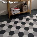 Nuevo diseño de cerámica rústica baldosas hexagonales