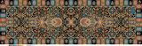 Form glattes Handfeeling Digital Drucken Silk Paj Schal für Frauen