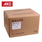 Escritura de la etiqueta de las etiquetas engomadas del compresor del acondicionador de aire de la resistencia térmica