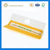 Boîte-cadeau de luxe de bijou de papier de modèle pour le bracelet (boîte-cadeau de papier de bracelet)