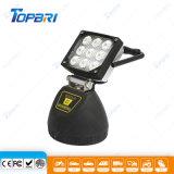 12V Portable 27W luz de LED Recarregável com Base Magnética