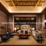 Le sofa d'entrée d'hôtel d'étoile de Moden cinq a placé avec le Tableau