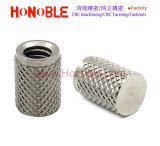 Diamant dans trou borgne en acier inoxydable de l'écrou moleté, l'écrou d'injection