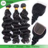 Cheveux humains de corps de prix usine d'onde de cheveu indien de Vierge