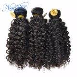 Новые пачки человеческих волос скручиваемости 100% прибытия дешево китайские Kinky