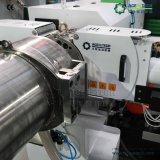 El doble de la etapa de la extrusora de plástico para PP película PE rallar la máquina
