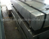 Nivel superior en acero galvanizado corrugado/placa trapezoidal techado para Ghana
