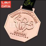 De hete Medaille van het Metaal van de Legering van het Zink van de Verkoop met het Sleutelkoord van de Druk