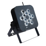 Neues flaches 12X12W 4in1 RGBWA +UV Stadium im Freien LED NENNWERT Licht