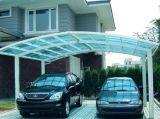 Carport dobro de alumínio para a garagem do carro