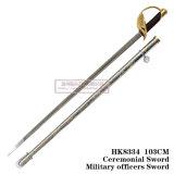 Шпага 103cm HK8334 офицеров армии шпаги китайской командующей шпаги церемониальная
