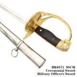 Spada cerimoniale 95cm HK8571 dell'ufficiale militare della spada della spada Commanding