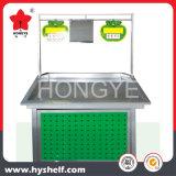 Stahlsupermarkt-Regal für Gemüse-und Frucht-Bildschirmanzeige