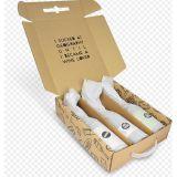 Contenitore stampato disegno personalizzato di vino della Rimboccare-Parte superiore di colore della casella con la maniglia