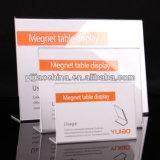 Акриловый держатель знака для рекламировать, рекламируя акриловый держатель таблицы
