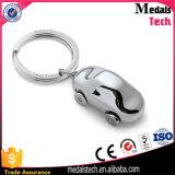 Esmalte duro Keychain redondo do metal por atacado com anel
