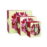 Kundenspezifischer Druck-überzogener Hochzeits-Papier-Geschenk-Beutel
