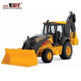 よりよい使用法のための小型前部掘削機のバックホウのローダーのトラクター