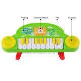 De tien Jonge geitjes die van het Elektronische Orgel van het Beeldverhaal van Sleutels Stuk speelgoed leren