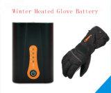 Батарея Li-иона перчатки перезаряжаемые 3.7V 6800mAh нагрева электрическим током лыжи зимы