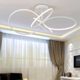 Populärster grosser Ventilator-Form-Metallinnenleuchter der Größen-LED