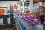 Botella automática máquina de envasado retráctil de la película PE