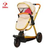 Beweglicher dreirädriger Baby-Spaziergänger