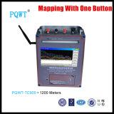 apparatuur van de Analyse van het Merkteken pqwt-Tc900 van het Water van 1200m de Super Diepe Ondergrondse Elektronische Metende