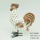 Statues de coq et de poule de résine pour la décoration à la maison