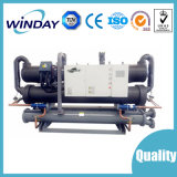 Refrigerador de refrigeração do parafuso da alta qualidade água industrial