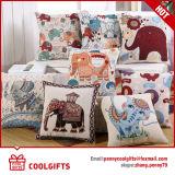Sofa-Kissen-Deckel 100% der Fabrik-Großverkauf-Baumwollkissen-Rechtssachen-45*45cm dekorativer