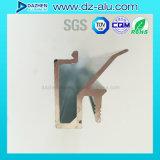 Profil personnalisé d'aluminium de bâti d'entrée principale de système