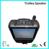 Bewegliches aktives angeschaltenes PA-Lautsprecher-System mit LCD-Bildschirm